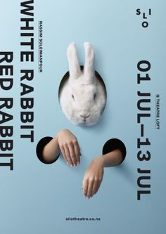 Red Rabbit poster design