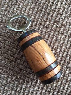Wood turned bottle opener hand made bottle opener by nealworksltd