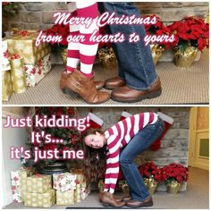 I should do this for my Christmas cards this year!