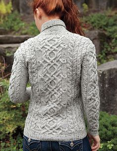 Galloway Pullover pattern by Kerin Dimeler-Laurence #knit