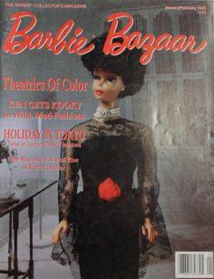 BARBIE BAZAAR COLLECTOR MAGAZINE JAN/FEB 1993