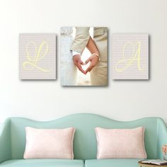 Wedding Vow Art – set of 3 Wedding Vow Art with Photo – Canvas Display Set of wedding vows with photo, anniversary gift idea, wedding vow art Related posts: Decorating to Match Your Wedding Venue Decoration Bedroom, Diy Home Decor, Art Decor, Decor Ideas, Gift Ideas, Wedding Vow Art, Trendy Wedding, Wedding Dancing, Wedding Gifts