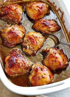 This chicken thigh marinade is the best. It's killer! Easy to make with a few simple ingredients.