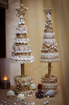 NOWOŚĆ: ❤️❤️ Świąteczne dekoracje w kształcie choinki. Wow! ❤️❤️