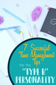 Time Management Tips for the Type B Personality - Planning Mindfully - Improve your productivity even if you have a type B personality. Get organized right away. Self Development, Personal Development, Time Management Strategies, Young Professional, Professional Development, Organize Your Life, Getting Organized, Self Improvement, Bujo
