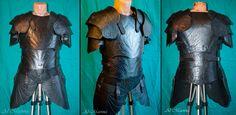 elven cuir bouilli armor by ~Shattan on deviantART