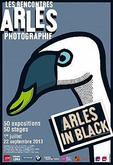 Les Rencontres d'Arles Photographie 2013 présentent leurs expositions « Arles in Black »