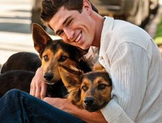 a-hot-guy-with animals