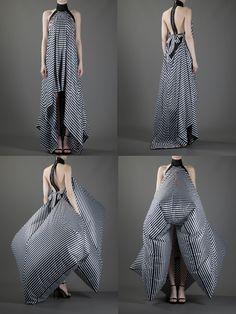 Gareth Pugh inflatable Dress - www.Farfetch.com
