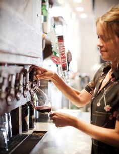 Wines on tap revolution