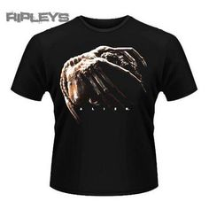 Aliens Inspired Weyland Alien Predator Film Movie Horror Face Hugger T Shirt