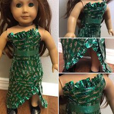 Sissy Beth's Doll Corner: Project Doll Runway: Challenge one- Candy wrappers...