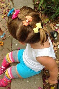 Hairstyles girls Einfache und kreative Frisuren für kleine Mädchen - Neue Frisuren Penteados simples e criativos para meninas # tranças Girls Hairdos, Baby Girl Hairstyles, Princess Hairstyles, Cute Hairstyles, Beautiful Hairstyles, Girl Haircuts, Female Hairstyles, Teenage Hairstyles, Trendy Haircuts
