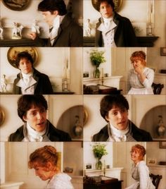I could watch it again and again and never tire of it.  Favorite scene in Sense and Sensibility!