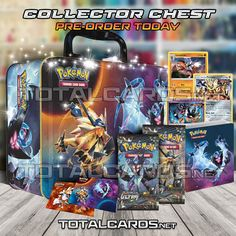 Pokemon Spring 2018 Collectors Chest Tin Image Revealed!