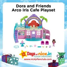Bring a little piece of Playa Verde home with the Dora and Friends Arco Iris Cafe!