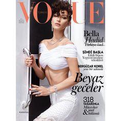 La couverture de Vogue Turkiye avec Bella Hadid