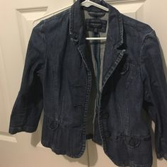 Medium wash stretch jean jacket AE MED wash American Eagle Outfitters Jackets & Coats Jean Jackets