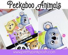 Pretty Pink Posh: Peekaboo Animals