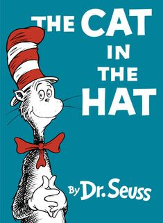 Have a ball with Dr. Seuss and the Cat in the Hat in this classic picture book.but don't forget to clean up your mess! A dreary day turns into a. Dr. Seuss, Dr Seuss Hat, Reading For Beginners, Beginner Books, Dr Suess Books, Books To Read, My Books, Sleepy, Audio