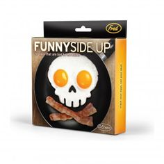Invotis Spiegeleiform Totenkopf Funny Side Up Skull | design3000.de