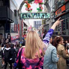 Sharla in Japan