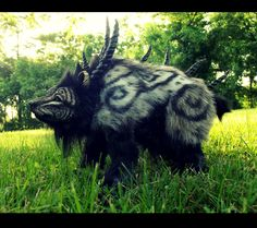 --SOLD--Poseable Fantasy Prehistoric Tundra Bear! by Wood-Splitter-Lee.deviantart.com on @deviantART