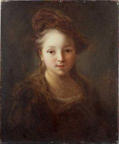 GRIMOU Alexis      Tête de jeune fille