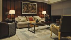 Frank #4 Rockefeller Chair + Frank Armless Sofa by Mattaliano #interiordesign #design #luxuryfurntiure #livingroom #designers #luxury #interiorstyling #interiordesigner #furntiuredesign #interiordecorating #customfurntiure #highendfurniture #homedecor