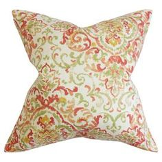 Hailey Pillow in Rose Green