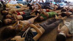 Agosto: cientos de niños mueren por un ataque con armas químicas