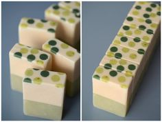 bbee´s soapsite: cute dotted soap (German recipe)