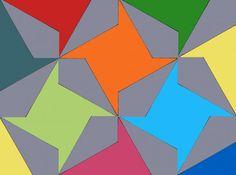 Paper Pieced Pinwheels