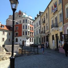 Old town, Lublin Poland