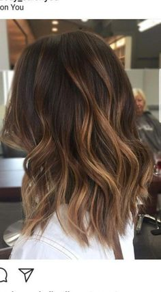 brunette hair Amazing Caramel Balayage That You Can Do At Home - Ombre Hair Color - Brown Hair Balayage, Hair Color Balayage, Caramel Balayage Brunette, Balayage Hair Brunette Medium, Hair Color Ideas For Brunettes Short, Balayage Hair Caramel, Brunette Ombre Balayage, Honey Balayage, Brunette Balayge