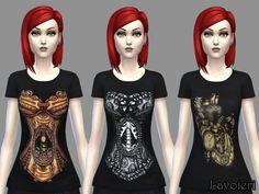 Lavoieri Sims: Random T-Shirts • Sims 4 Downloads