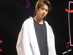Jin: *Glares sexily* Me: *chokes in air*