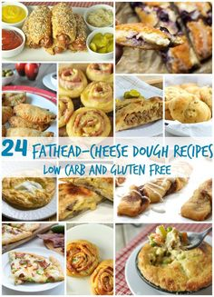 24 Fathead Cheese Dough Recipes - Low Carb and Gluten Free |  Healthy Living in Body and Mind