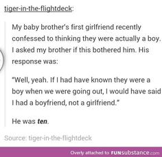 Tumblr. He's going to be a good guy :) <<<I thought this said He's…