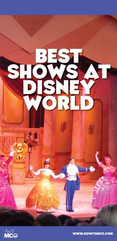 The shows are AMAZING at Disney World. Make sure you don't miss these!