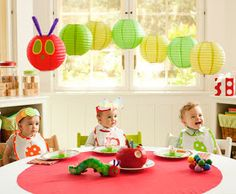 Party Fun for Little Ones: The Very Hungry Caterpillar Party Ideas