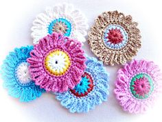 Cayetanna Crafters Blog: Free: Delicate Flowers Crochet Pattern