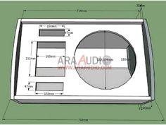 Monitor, Woofer Speaker, Speaker Plans, Sub Box, Speaker Box Design, Diy Speakers, Circuit Diagram, Loudspeaker, Audio Equipment