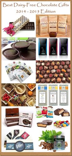 Best Dairy-Free Chocolate Gifts (2014-2015) - Vegan, Gluten-Free, Nut-Free and Healthy Delights for Chocoholics