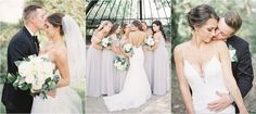 A romantic elegance Regina, Saskatchewan wedding with a soft palette of grey and ivory marrying perfectly throughout each image. Bride Makeup, Bridesmaid Dresses, Wedding Dresses, Makeup Inspiration, Special Events, Lisa, Romantic, Bridal, Elegant