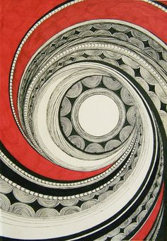 Spiral ~ love this simply fascinating design by elements via tumblr