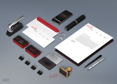 A collection of Identity Branding Stationery Mockup Templates which give your Corporate & Organization a unified and attractive brand identity system. Corporate Design, Social Design, Web Design, Brand Identity Design, Branding Design, Corporate Identity, Visual Identity, Branding Ideas, Identity Branding