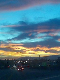 The sunrise in Buena Park, CA yesterday. 10/7/13