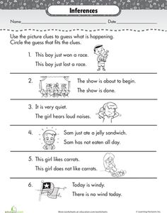 Making Inferences Worksheet | Inference, Worksheets and Making ...