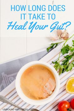 """What's The """"Leaky Gut"""" Healing Time? - Unbound Wellness health What's The """"Leaky Gut"""" Healing Time? Health Diet, Health And Wellness, Holistic Nutrition, Food Nutrition, Bone Health, Child Nutrition, Women's Health, Health Care, Health Fitness"""